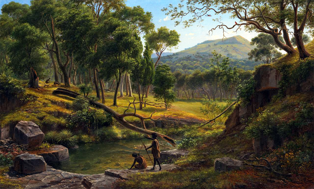 Warrenheip Hills 1854